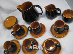 19 Vintage Prinknash Ceramic Dinnerware Tea Coffee Set England