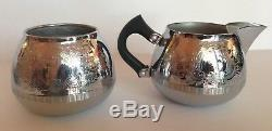 9PCS Vtg 1960s England Swan Brand Cromalin Carlton Tea & Coffee Set