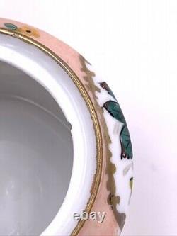 Ancien service à café en porcelaine de Limoges Vintage porcelain coffee set