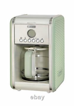 Ariete Vintage Green Kettle, Toaster and Filter Coffee Maker Set