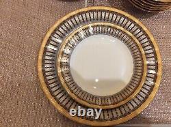 Auratic Japanese Vintage Dinner, tea and coffee set set of 6