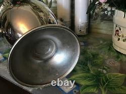 Beautiful, Vintage Silver On Copper Coffee And Tea 5 PC Set