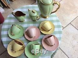Carltonware Vintage Coffee Set