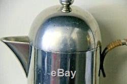 Collectable Nick Munro Coffee set Rare Pewter tableware vintage