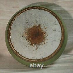Lincoln BeautyWare Avocado Canister Set Flour Tea Sugar Coffee RARE Vintage MCM