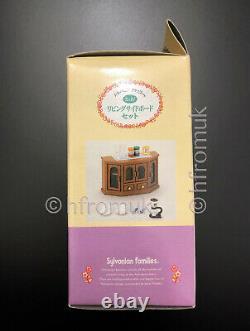 Living Sideboard BNIB RARE Sylvanian Families Coffee Set Dresser Display Calico