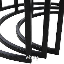 Nest of 2 3 Tables Nested Tables Coffee Table Side End Table Hallway Living Room