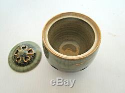 New Vintage Soma Yaki Japanese 21 Piece Tea / Coffee Set, Double Walled, Japan