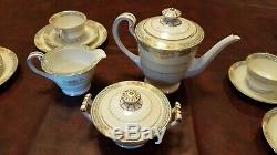 Nice Vintage Noritake Occupied Japan China 21 Piece 6 Setting Tea & Coffee Set