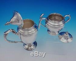 Puritan by Gorham Sterling Silver Coffee Set 4pc Vintage (#3464)