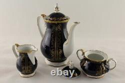 Reichenbach vintage porcelain coffee set GDR (Germany)