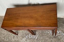 Retro Teak Coffee Table Set Nest 1 Plus 2 Retro Vintage