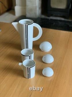 Rosenthal Studio Line Cupola Coffee Set Art Deco Vintage Mario Bellini