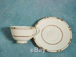 Royal Doulton VINTAGE Tea Coffee SET Gold Encrusted edges Cream 1938 V1926