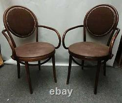Set of 2 Wooden Bentwood Dining Chairs Kitchen-Restaurant/Coffee Shop