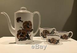 Susie Cooper Reverie 22 Piece Coffee Set. True Vintage. VGC
