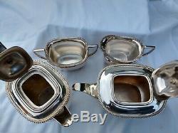 TOP QUALITY ELKINGTON vintage silver plate tea coffee set