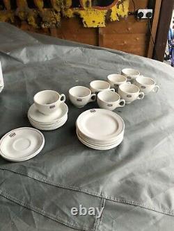 Texaco motor oil vintage retro tea coffee set
