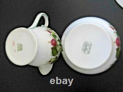 VINTAGE 20 PIECE BONE CHINA SHELLEY FUCHSIA tea/coffee set. 2395