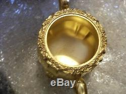 VINTAGE 24 KT GOLD PLATED TEA OR COFFEE SET International Silver Company