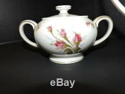 VINTAGE ROSENTHAL AIDA WINIFRED TEA SET PETAL LANE COFFEE POT With LID, CREAMER, A