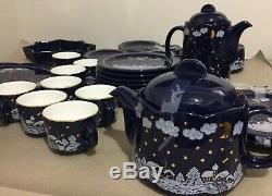 VINTAGE WAECHTERSBACH Germany Winter Dreams Tea / Coffee Set Of 40 Pieces