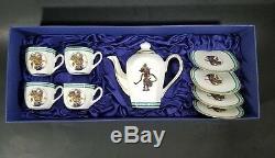 VTG Griya Pusaka Rasa Fine Bone Porcelain Hand Made Indonesian Tea & Coffee Set
