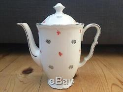 Very Rare Vintage Epiag DF Deutschland Coffee Set, German Occupied Czechoslovakia