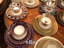 Vintage 12 cups 12 Saucer 12 Cake Plate Winterling Bavaria Porcelain Coffee Set