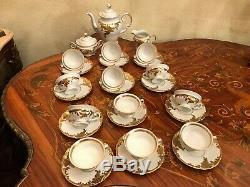 Vintage 12 cups 12 Saucer KPM Porcelain Coffee Set