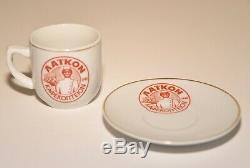 Vintage 1948 Vaikon Kaoekonteion Butler Server Espresso Demitasse Coffee Set