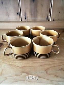 Vintage 1970s Melitta Liselotte Kantner Kopenhagen Ceramic 21 Piece Coffee Set