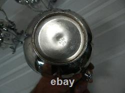 Vintage! 3Pc. Set of Extra Heavy Plate Rogers Bros. MFG. Co. Tea & Coffee Pot Set