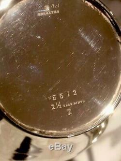 Vintage 3 pc. Sterling Silver tea / coffee set 718.96 GRAMS