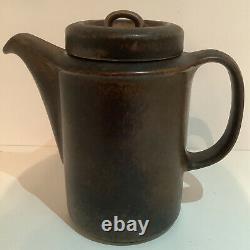 Vintage Arabia Wartsila Finland Ruska Coffee Set 6 Cups, Saucers & Coffee Pot