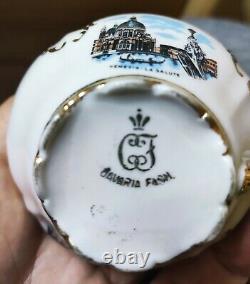 Vintage Bavaria porcelain tea coffee set