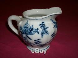 Vintage Blue Danube Porcelain Tea Coffee Set Ribbon Markings Reg. U. S. Pat. Off