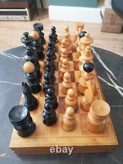 Vintage Chess Set Vienna Coffee House 60s