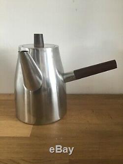 Vintage Coffee Set Rosewood Stainless Lundtofte Tias Eckhoff Rare Retro