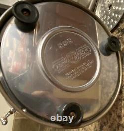 Vintage Electric Coffee Percolator Forman Bros Ny 3 Pc Set Bakelite Art Deco