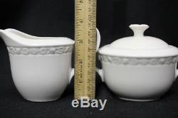 Vintage Enoch Wedgewood (Tunstall) Hedge Rose Coffee Set with Gravy Boat