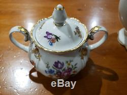 Vintage Fine China Coffee/Tea Set Made In GDR Germany