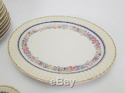 Vintage French Limoges Porcelain Coffee Set and Plates L Bernardaud & Co B & Co