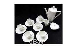 Vintage Mid Century coffee set by Hans Achtziger for Hutschenreuther Selb