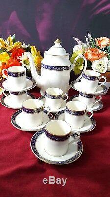 Vintage Minton Edinburgh coffee for eight sets Vgc
