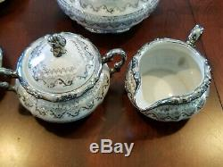 Vintage Mitterteich Bavaria Germany Tea Coffee Set 29 Piece Set