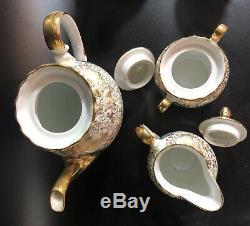 Vintage PR Bavaria Demitasse/Coffee Set (for 10) Gilt Germany
