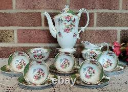 Vintage Paragon By Appointment Fine Bone China Rockingham' Coffee Set