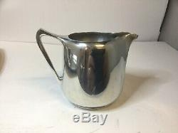Vintage Picquot Ware Tea Coffee Set on Tray 1950's/60's, Super Condition