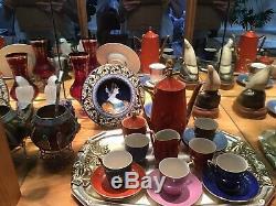 Vintage Porcelain Expresso Coffee Set